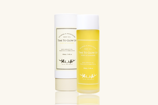 TIME TO GLOW UP・BODY OIL・SUNSHINE